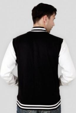 Amerykańska bluza męska College z własnym nadrukiem