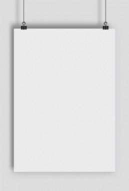 Plakat pionowy z własnym nadrukiem