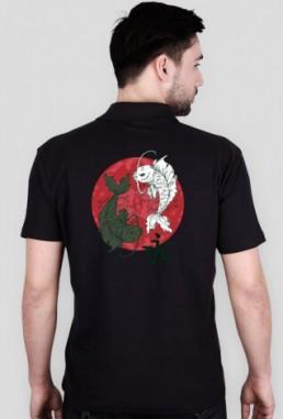 Śmieszna koszulka męska polo
