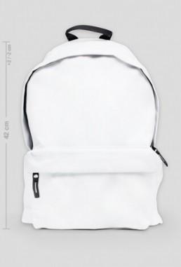 Duży plecak z własnym nadrukiem