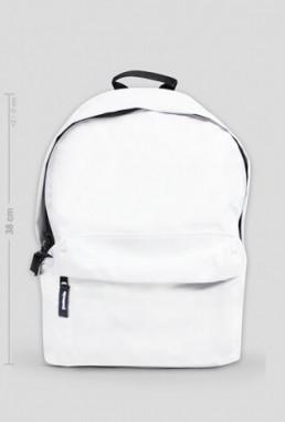 Mały plecak z własnym nadrukiem