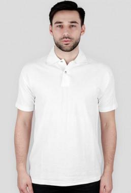 Koszulka męska polo biała