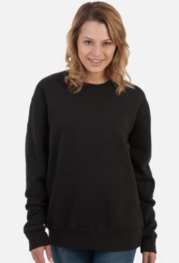 Bluza damska prosta czarna