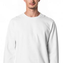 Bluza męska biała prosta