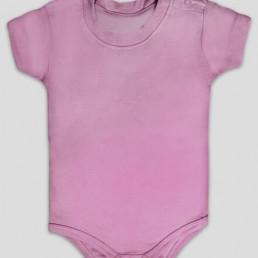 Body dziecięce śpioszki różowe