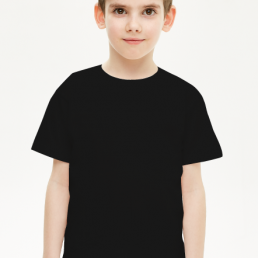 Koszulka dziecięca chłopięca czarna