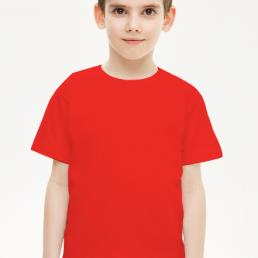 Koszulka dziecięca chłopięca czerwona