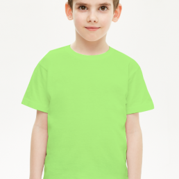 Koszulka dziecięca chłopięca zielona