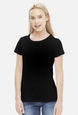 Koszulka damska czarna