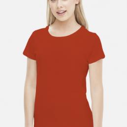 Koszulka damska czerwona