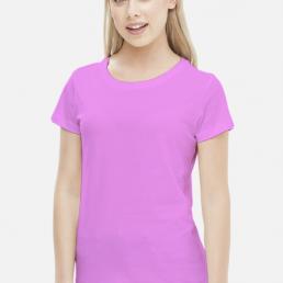 Koszulka damska różowa