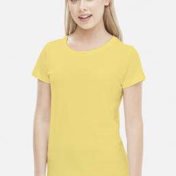 Koszulka damska żółta
