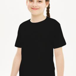 Koszulka dziewczęca czarna