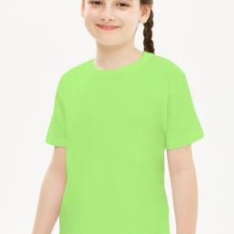 Koszulka dziewczęca zielona