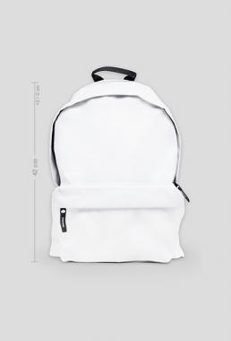 Plecak duży biały