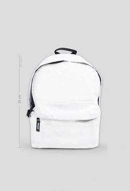 Plecak mały biały