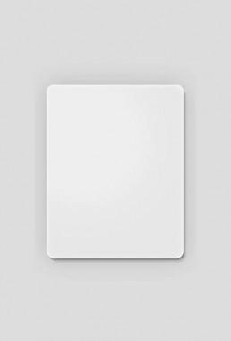 Podkładka pod mysz biała