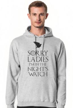 Bluza męska z kapturem śmieszna