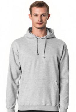 Bluza męska z kapturem z własnym nadrukiem