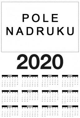 Kalendarz z własnym nadrukiem