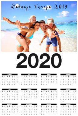 Kalendarz ścienny śmieszny
