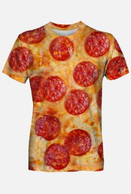 Koszulka fullprint śmieszna