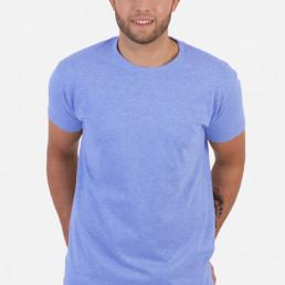Koszulka męska błękitna
