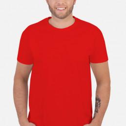 Koszulka męska czerwona