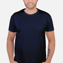 Koszulka męska granatowa