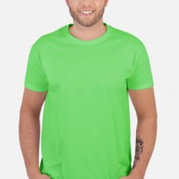 Koszulka męska limonkowa