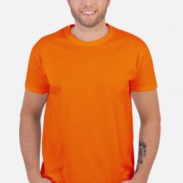 Koszulka męska pomarańczowa