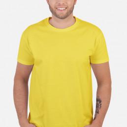 Koszulka męska żółta