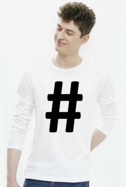 Męski longsleeve koszulka z długimi rękawami śmieszna