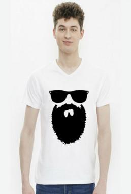 Śmieszna koszulka męska w serek