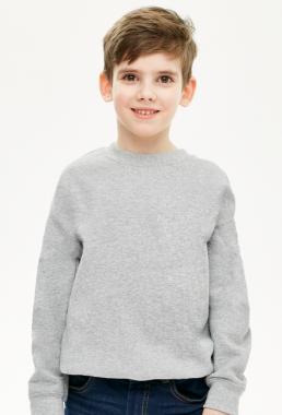 Bluza chłopięca prosta szara
