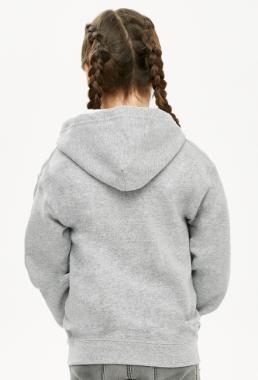 Rozpinana bluza z kapturem dla dziewczynki