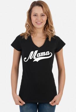 Koszulka damska w serek śmieszna