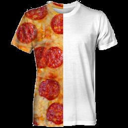 Koszulka fullprint z własnym nadrukiem śmieszna